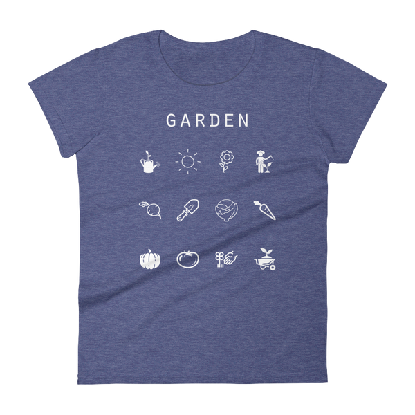 Garden Fitted Women's T-Shirt - Beacon