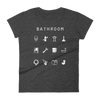 Bathroom Fitted Women's T-Shirt - Beacon