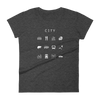 City Fitted Women's T-Shirt - Beacon