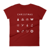 Christmas Fitted Women's T-Shirt - Beacon