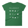 Fellowship (Lord of the Rings) Fitted Women's T-Shirt - Beacon