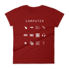 Computer Fitted Women's T-Shirt - Beacon