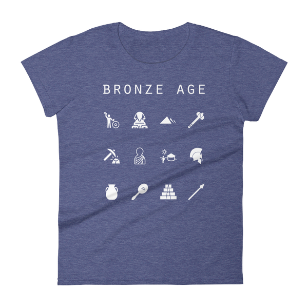 Bronze Age Fitted Women's T-Shirt - Beacon