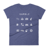Gamble Fitted Women's T-Shirt - Beacon