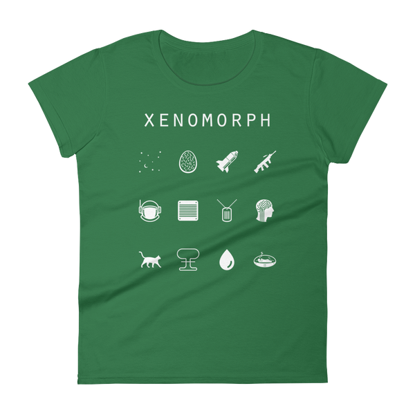 Xenomorph Fitted Women's T-Shirt - Beacon