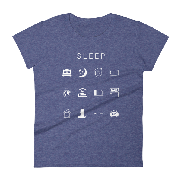 Sleep Fitted Women's T-Shirt - Beacon