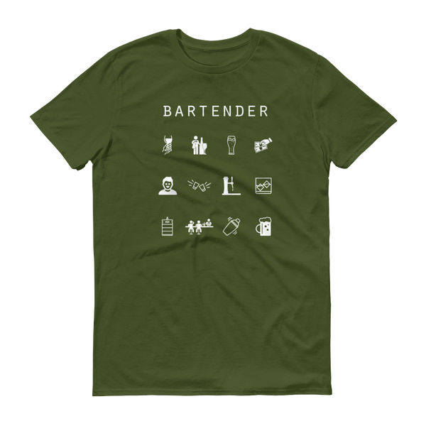 Bartender Unisex T-Shirt - Beacon