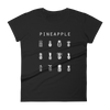 Pineapple Fitted Women's T-Shirt - Beacon