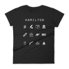 Hamilton Fitted Women's T-Shirt - Beacon