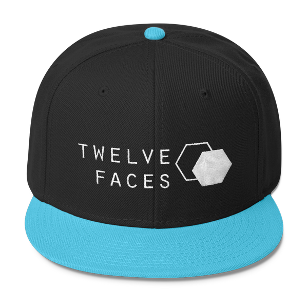 Twelve Faces Logo Snapback Hat