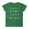 Archaeology Fitted Women's T-Shirt - Beacon
