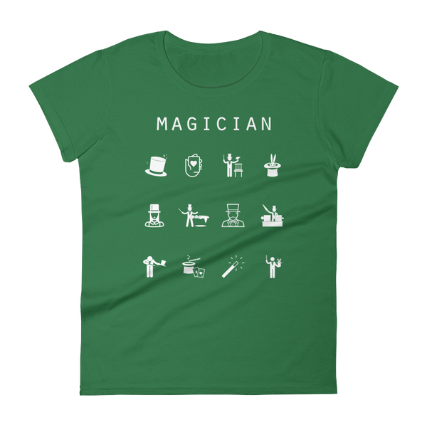 Magician Fitted Women's T-Shirt - Beacon