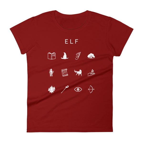 Elf Fitted Women's T-Shirt - Beacon