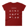 Nurse Fitted Women's T-Shirt - Beacon