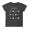 Forest (MTG) Fitted Women's T-Shirt - Beacon