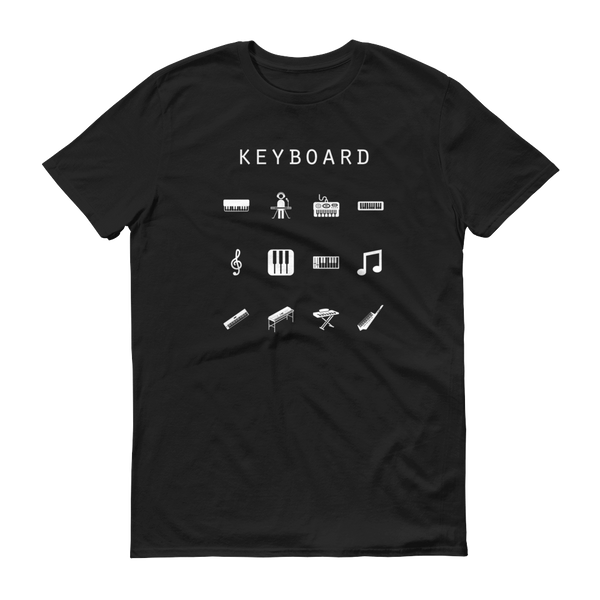 Keyboard Unisex T-Shirt - Beacon