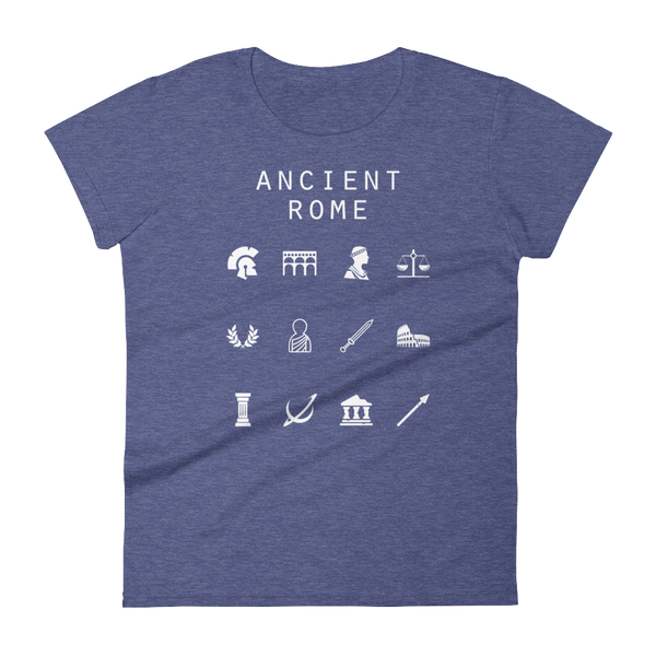 Ancient Rome Fitted Women's T-Shirt - Beacon