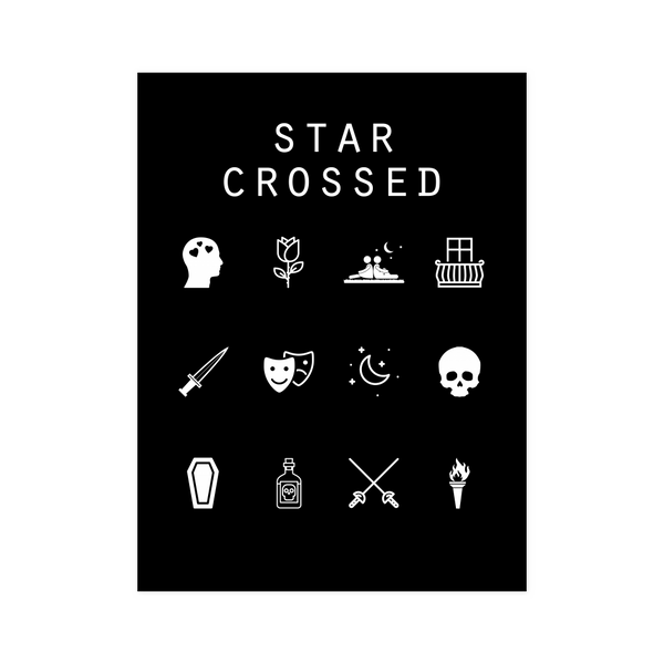 Star Crossed Black Poster - Beacon