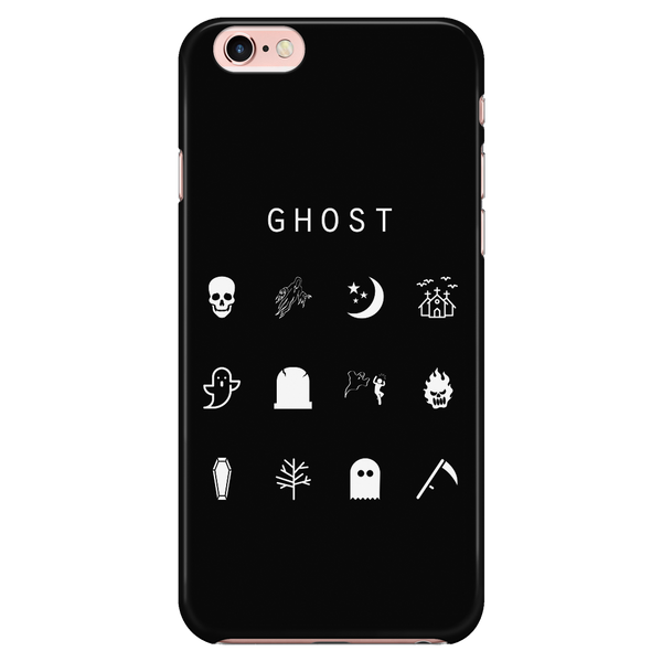 Ghost Black Phone Case - Beacon