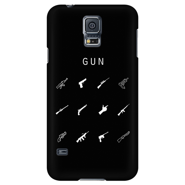 Gun Black Phone Case - Beacon