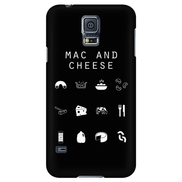 Mac and Cheese Black Phone Case - Beacon