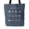 Bicycle Tote Bag - Beacon