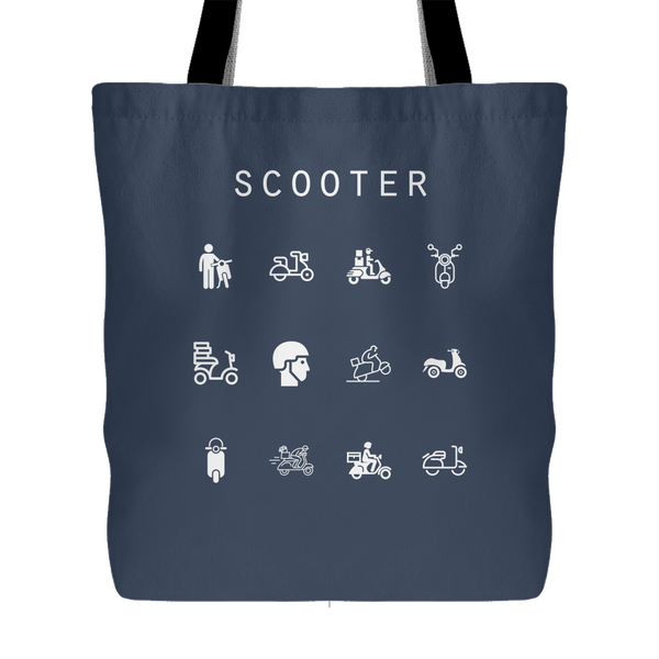 Scooter Tote Bag - Beacon