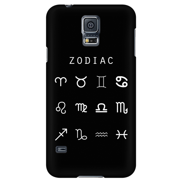 Zodiac (Symbols) Black Phone Case - Beacon