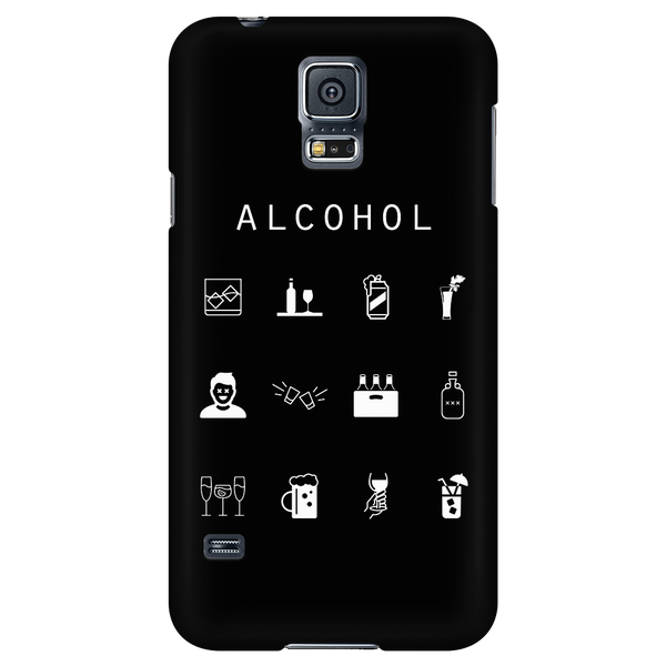 Alcohol Black Phone Case - Beacon