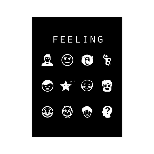 Feeling Black Poster - Beacon