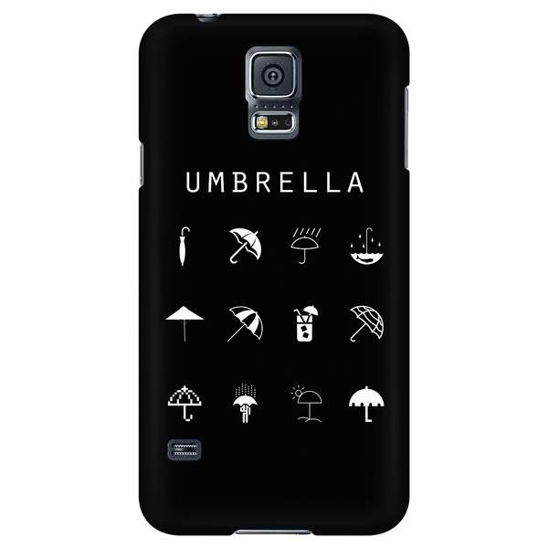 Umbrella Black Phone Case - Beacon