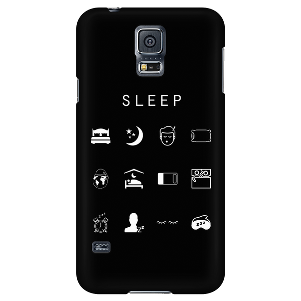 Sleep Black Phone Case - Beacon
