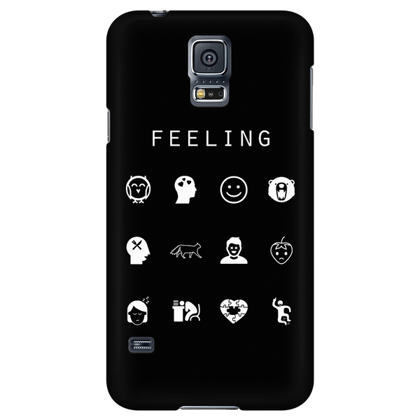 Feeling Black Phone Case - Beacon