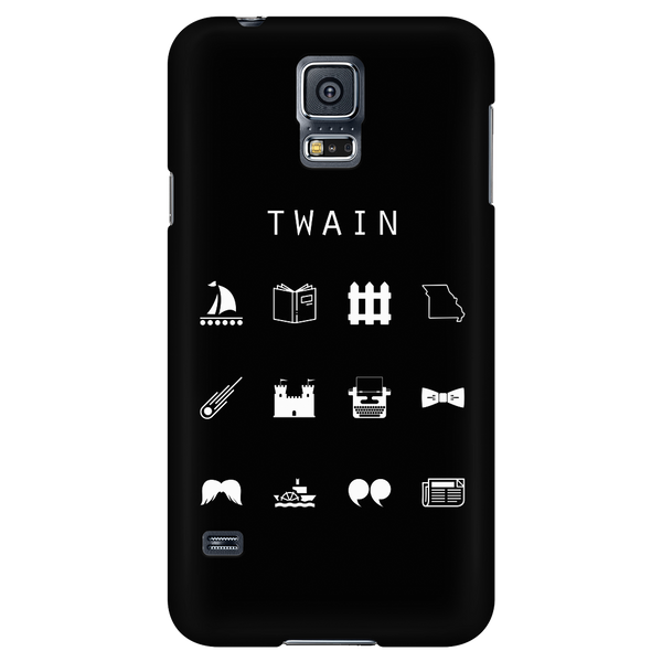 Twain Black Phone Case - Beacon