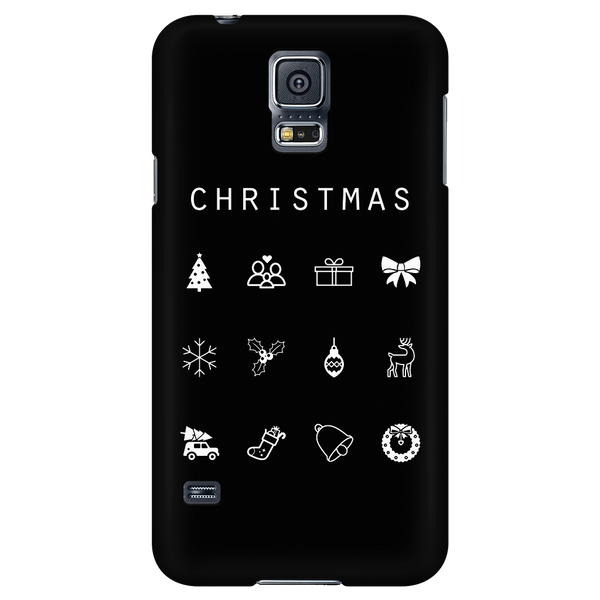 Christmas Black Phone Case - Beacon