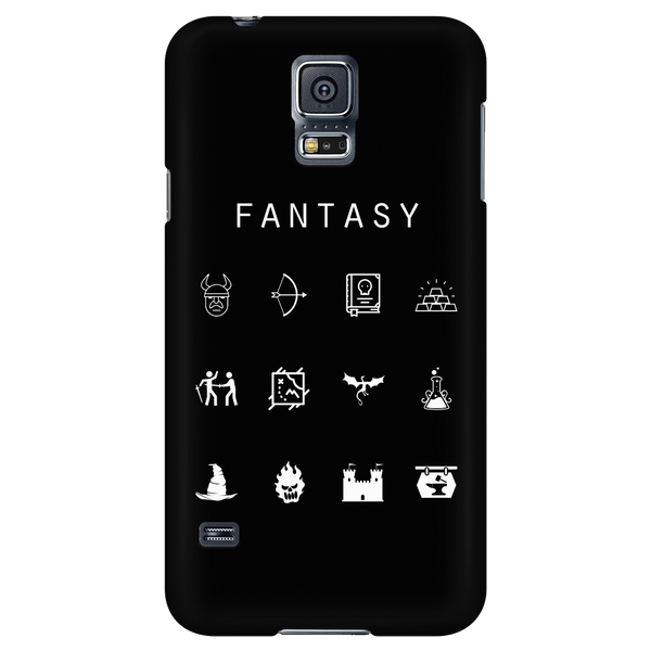 Fantasy Black Phone Case - Beacon