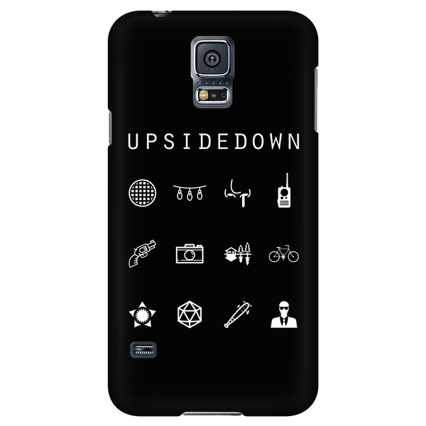 Upsidedown Black Phone Case - Beacon