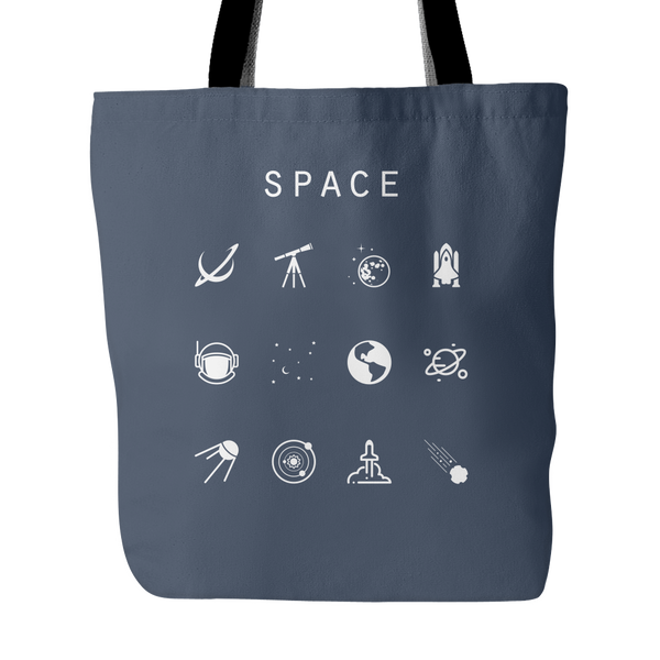 Space Tote Bag - Beacon
