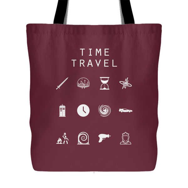Time Travel Tote Bag - Beacon