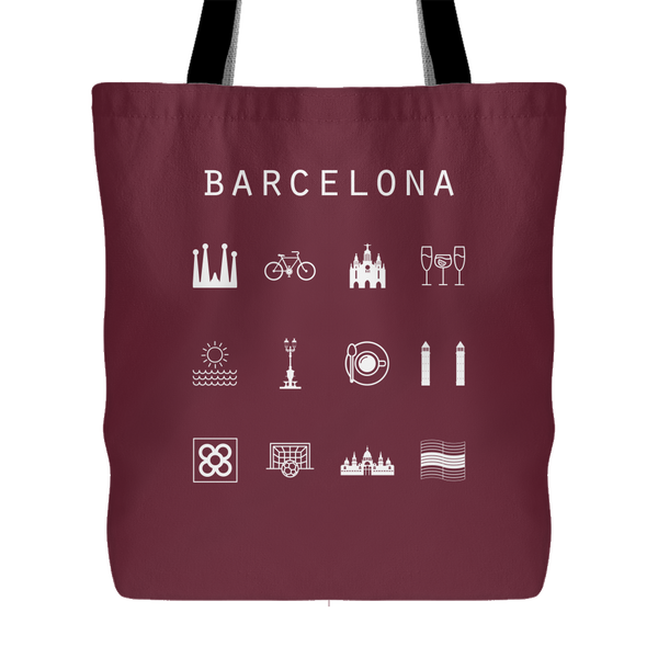 Barcelona Tote Bag - Beacon