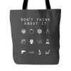 Don't Think About It (Rick and Morty) Tote Bag - Beacon
