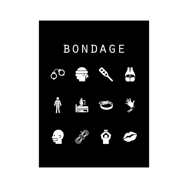 Bondage Black Poster - Beacon