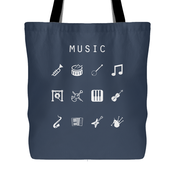 Music Tote Bag - Beacon