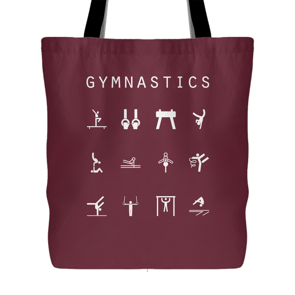 Gymnastics Tote Bag - Beacon