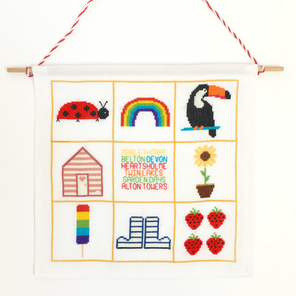 How To Make A Cross Stitch Banner