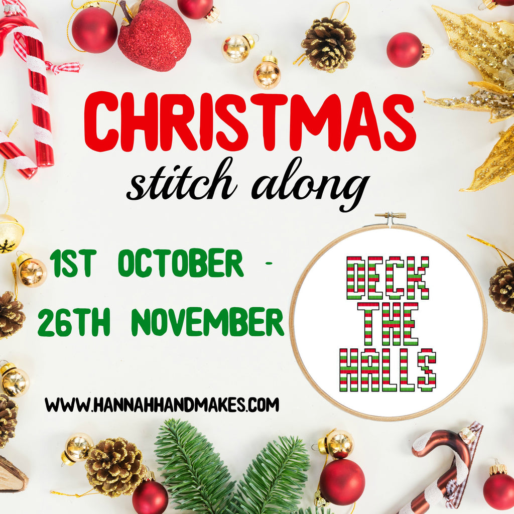 A Christmas Stitch Along - Deck The Halls