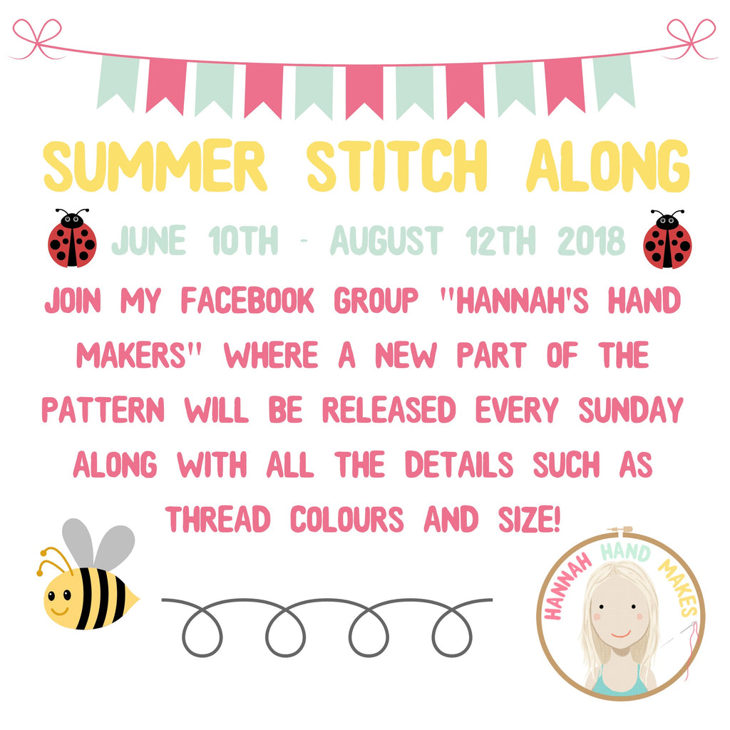The Summer Stitch Along