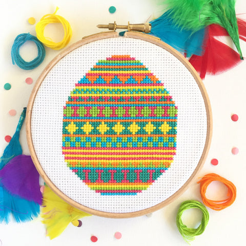Easter Egg Cross Stitch Kit