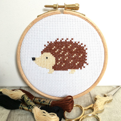hedgehog-cross-stitch-kit