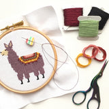 Little Llama Cross Stitch Kit